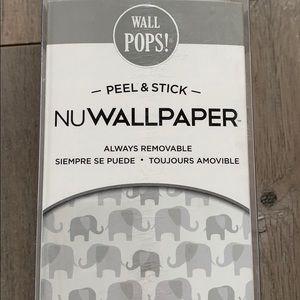 "Peel & Stick Wallpaper ""Elephant Parade"""